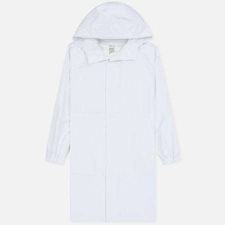Мужская куртка дождевик Helmut Lang x Parley Hooded Raincoat White