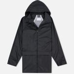 Мужская куртка дождевик MKI Miyuki-Zoku Logo Rainmac Black фото- 0