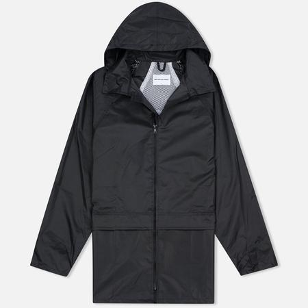 Мужская куртка дождевик MKI Miyuki-Zoku Logo Rainmac Black