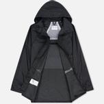 Мужская куртка дождевик MKI Miyuki-Zoku Logo Rainmac Black фото- 2