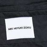 Мужская куртка дождевик MKI Miyuki-Zoku Logo Rainmac Black фото- 5