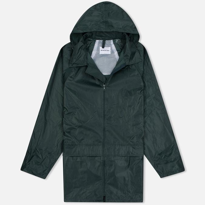 Мужская куртка дождевик MKI Miyuki-Zoku Logo Rainmac Deep Olive