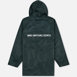 Мужская куртка дождевик MKI Miyuki-Zoku Logo Rainmac Deep Olive фото- 4