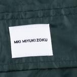 Мужская куртка дождевик MKI Miyuki-Zoku Logo Rainmac Deep Olive фото- 5