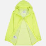 Мужская куртка дождевик MKI Miyuki-Zoku Logo Rainmac Flo Yellow фото- 2