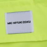 Мужская куртка дождевик MKI Miyuki-Zoku Logo Rainmac Flo Yellow фото- 5