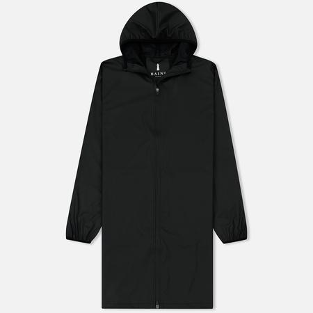 Мужская куртка дождевик Rains Base Long Jacket Black