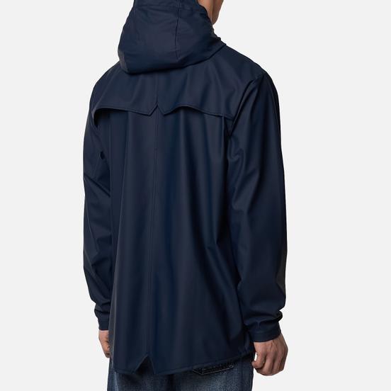 Мужская куртка дождевик Rains Jacket Blue