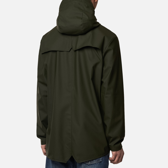 Мужская куртка дождевик Rains Jacket Green