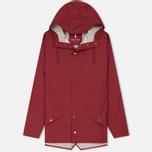 Мужская куртка дождевик Rains Jacket Scarlet фото- 0