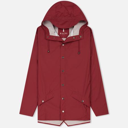 Мужская куртка дождевик Rains Jacket Scarlet