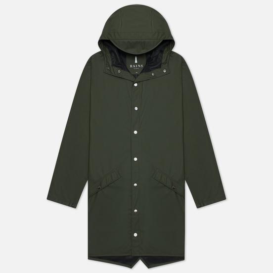 Мужская куртка дождевик Rains Long Jacket 1202-03