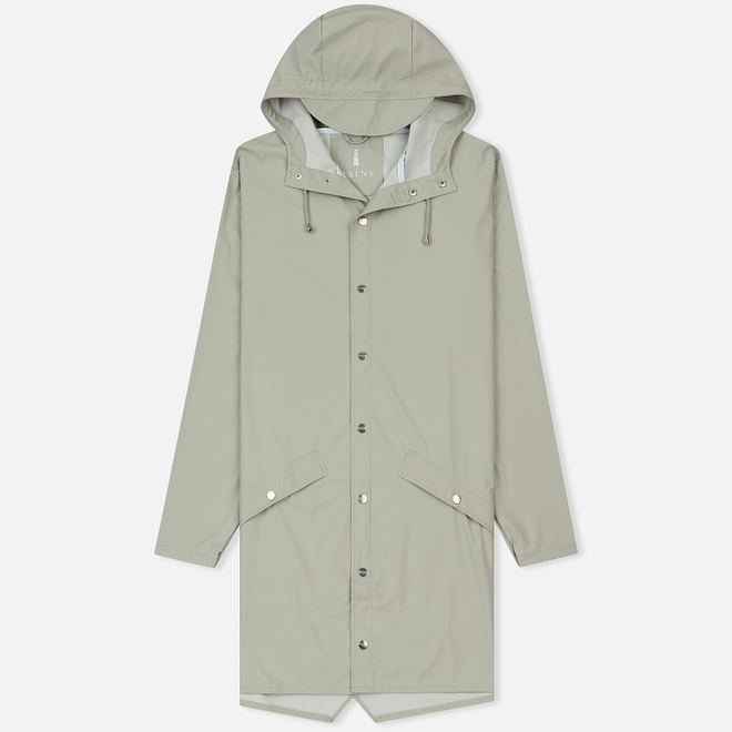 Мужская куртка дождевик Rains Long Jacket Moon