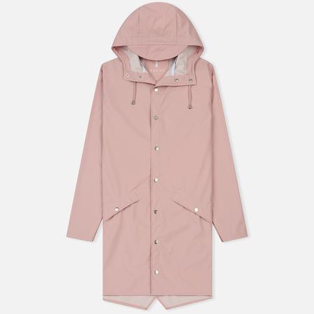 Мужская куртка дождевик Rains Long Jacket Rose