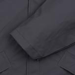 Мужская куртка дождевик Rains Long Jacket Smoke фото- 3