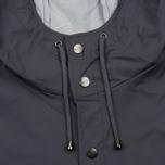 Мужская куртка дождевик Rains Long Jacket Smoke фото- 4