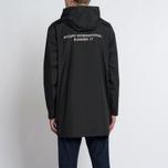 Мужская куртка дождевик Stussy Summer Long Hooded Coach Black фото- 11