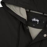 Мужская куртка дождевик Stussy Summer Long Hooded Coach Black фото- 1