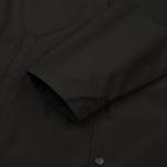 Мужская куртка дождевик Stussy Summer Long Hooded Coach Black фото- 6