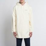Мужская куртка дождевик Stussy Summer Long Hooded Coach Off White фото- 10