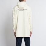 Мужская куртка дождевик Stussy Summer Long Hooded Coach Off White фото- 11