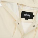Мужская куртка дождевик Stussy Summer Long Hooded Coach Off White фото- 1