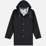 Мужская куртка дождевик Stutterheim Stockholm Black фото- 0