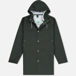 Мужская куртка дождевик Stutterheim Stockholm Green фото- 0