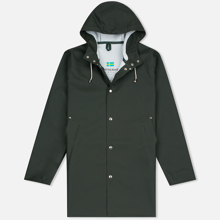 Мужская куртка дождевик Stutterheim Stockholm Green