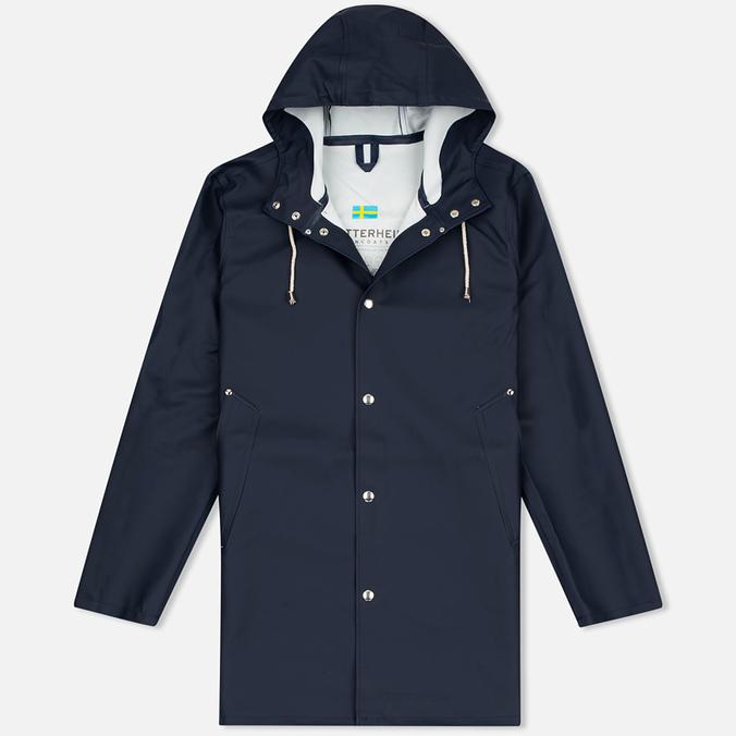 Мужская куртка дождевик Stutterheim Stockholm Navy