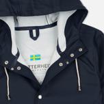 Мужская куртка дождевик Stutterheim Stockholm Navy фото- 2