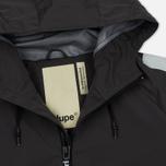 Мужская куртка Dupe Acid Tech 3L Hooded Shell Concrete Grey/Dupe Logo Print фото- 2