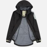 Мужская куртка Dupe Acid Tech 3L Hooded Shell Concrete Grey/Dupe Logo Print фото- 1