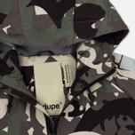 Мужская куртка Dupe Acid Tech 3L Hooded Shell Ultraflage/Dupe Logo Print фото- 2