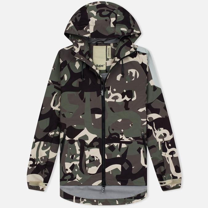 Мужская куртка Dupe Acid Tech 3L Hooded Shell Ultraflage/Ultras Dupe Print