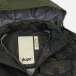 Мужская куртка Dupe Miglia Uno 3L Stowe Hooded Shell Graffiti Brown Camo/Ultras Dupe Print фото- 1