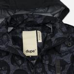 Мужская куртка Dupe Miglia Uno 3L Stowe Hooded Shell Milo Walsh Black/Black Cross Print фото- 1