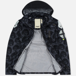 Мужская куртка Dupe Miglia Uno 3L Stowe Hooded Shell Milo Walsh Black/Black Cross Print фото- 2