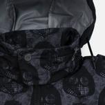 Мужская куртка Dupe Miglia Uno 3L Stowe Hooded Shell Milo Walsh Black/Black Cross Print фото- 3