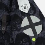 Мужская куртка Dupe Miglia Uno 3L Stowe Hooded Shell Milo Walsh Black/Black Cross Print фото- 5