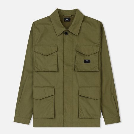 Мужская куртка Edwin Corporal Poly Сotton Сoated Military Green