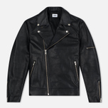 Мужская куртка Edwin Rider Cow Leather Black Garment Washed фото- 0