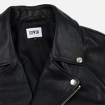 Мужская куртка Edwin Rider Cow Leather Black Garment Washed фото- 1