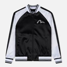 Мужская куртка Evisu Evisukuro Studded Sleeve Souvenir Black фото- 0