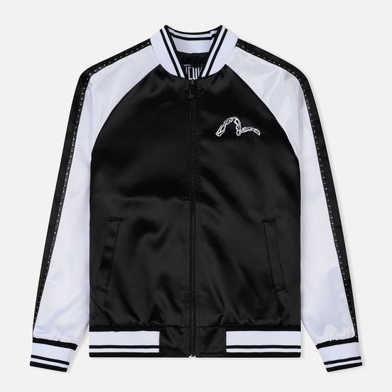 Мужская куртка Evisu Evisukuro Studded Sleeve Souvenir Black