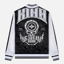 Мужская куртка Evisu Evisukuro Studded Sleeve Souvenir Black фото- 2