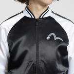 Мужская куртка Evisu Evisukuro Studded Sleeve Souvenir Black фото- 5