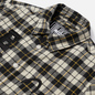 Мужская куртка Evisu Graffiti Oversize Padded Flannel Shirket Ecru фото - 1