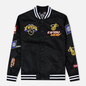 Мужская куртка Evisu Heritage NBA Clubs Embroidered Badges Black фото - 0