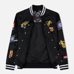 Мужская куртка Evisu Heritage NBA Clubs Embroidered Badges Black фото- 1